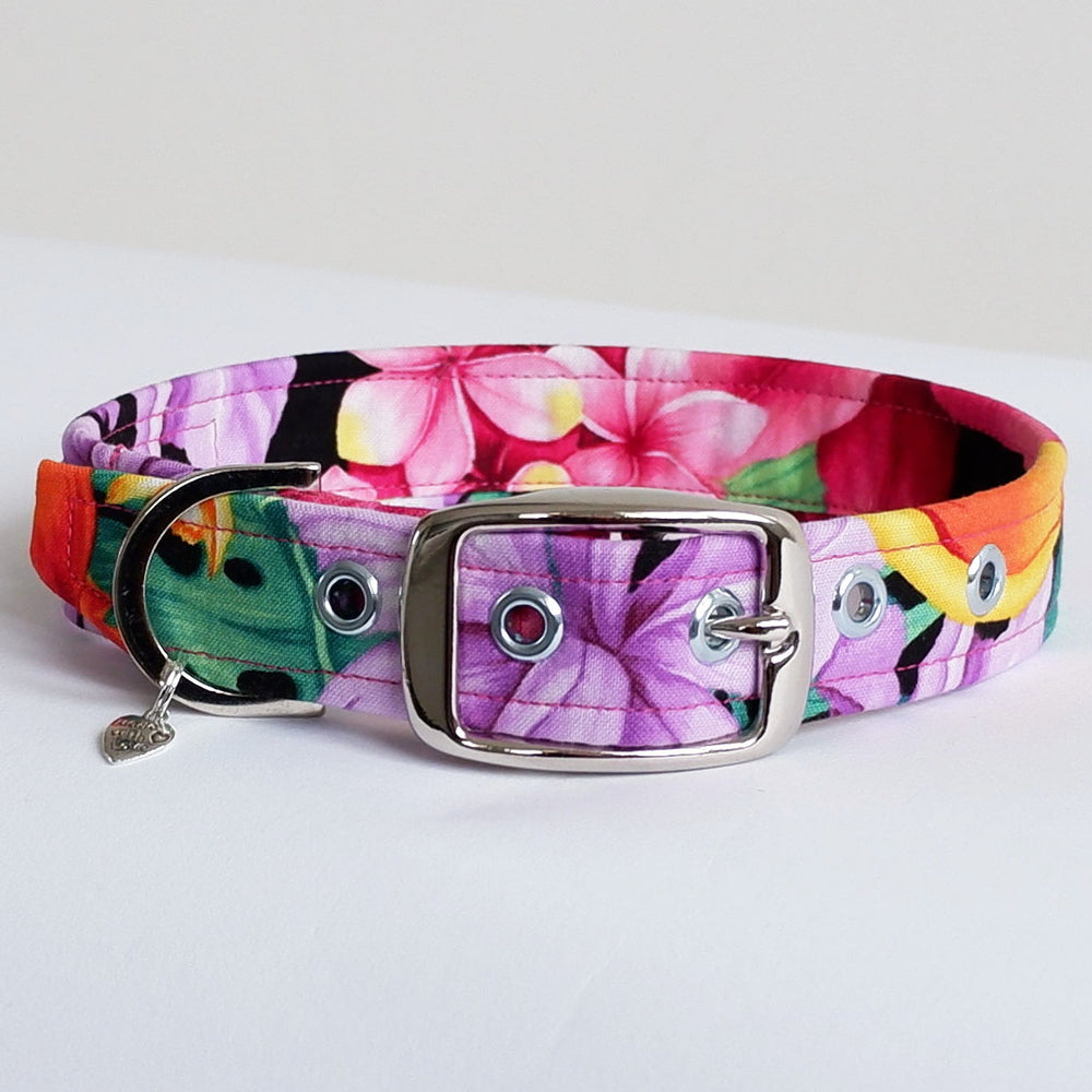 Botanical Buckle Dog Collar