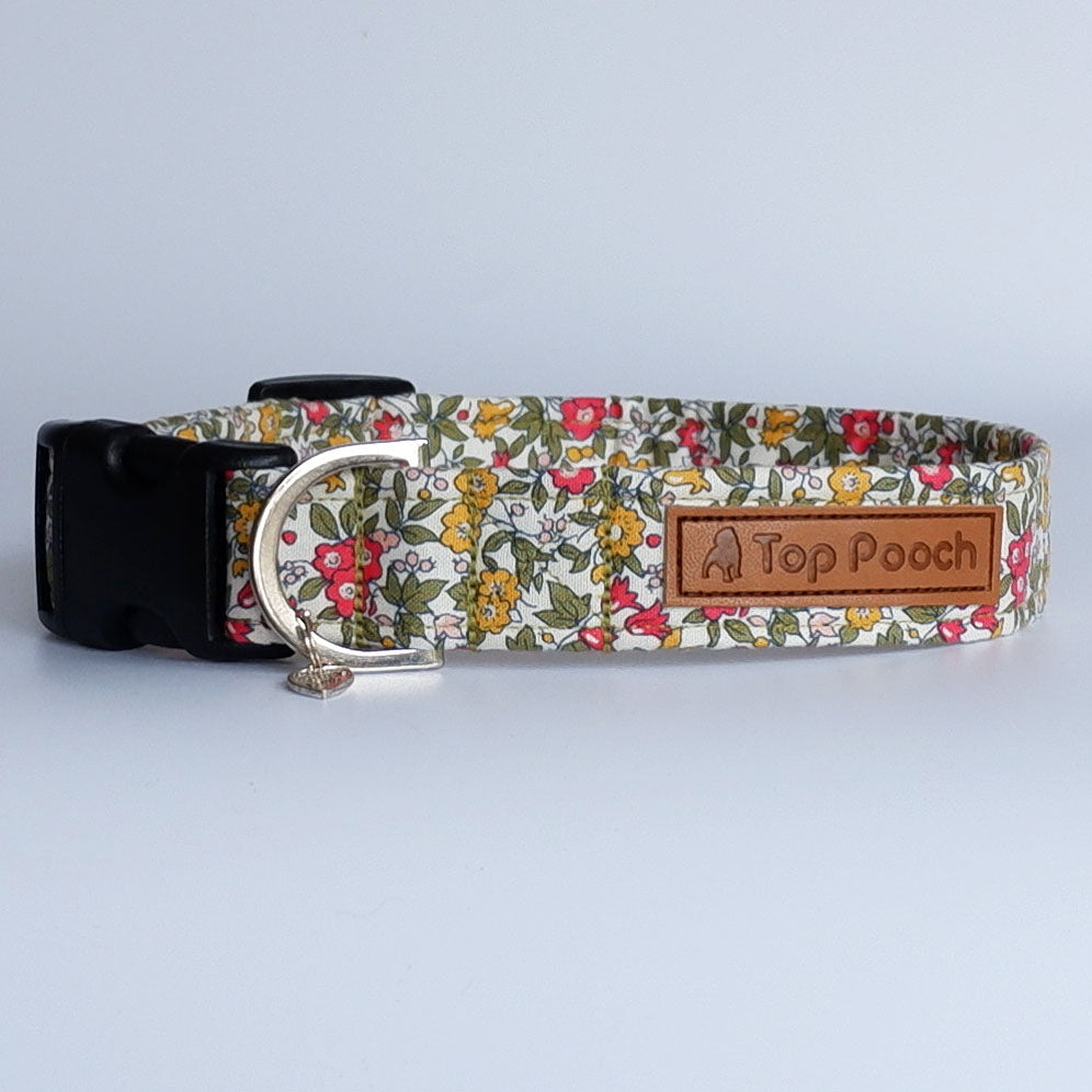 Country Garden Dog Collar