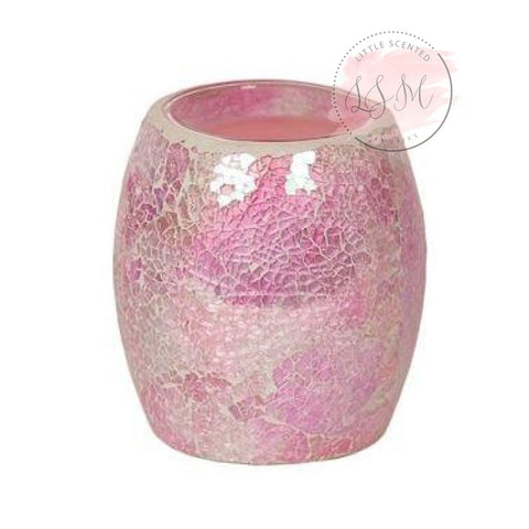 Pink Crackle Electric Burner Restocked 25Th Wax Warmers