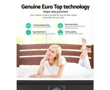 Load image into Gallery viewer, Giselle Bedding Double Size Mattress 7 Zone Euro Top Pocket Spring 34cm
