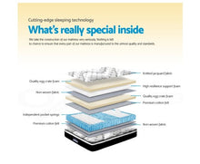 Load image into Gallery viewer, Giselle Bedding King Single Size Euro Spring Foam Mattress