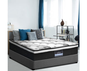 Giselle Bedding's Premier Series Euro Top 5 Zone Queen Mattress