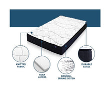 Load image into Gallery viewer, Giselle Bedding Single Size Mattress Bed Medium Firm Foam Bonnell Spring 16cm