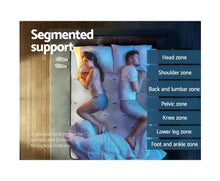 Load image into Gallery viewer, Giselle Bedding 36CM Double Mattress 7 Zone Euro Top Pocket Spring Medium Firm Foam