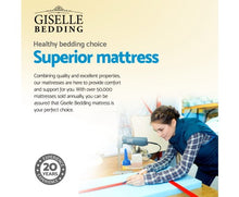 Load image into Gallery viewer, Giselle Bedding King Single Size 13cm Thick Spring Foam Mattress