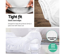 Load image into Gallery viewer, Giselle Bedding Single Size Waterproof Bamboo Mattress Protector