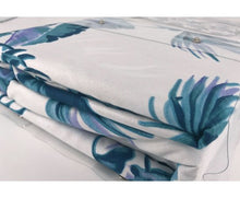 Load image into Gallery viewer, Queen Size 3pcs Tropical Plant Quilt Cover Set