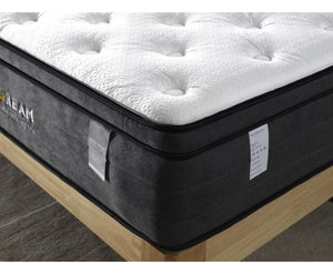 Eurotop Mattress 5 Zone Pocket Spring Latex Foam 34cm - Queen
