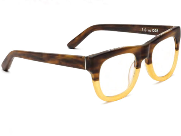 D28 Bullet Coffee Reading Glasses