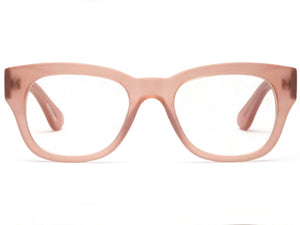 Miklos Reading Glasses - Matte Pink