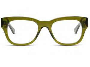 Miklos Reading Glasses - Polished Heritage Green