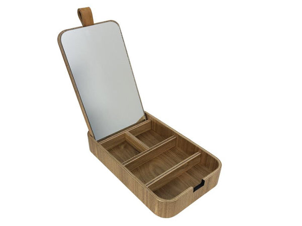 Plywood jewellery box