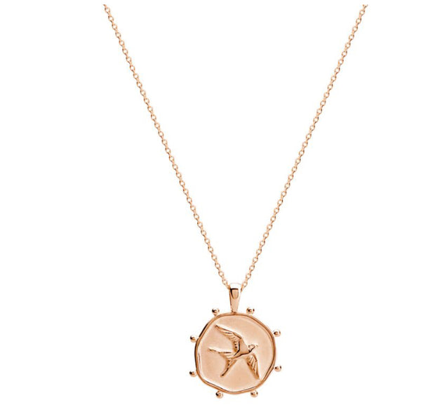 Freedom Necklace Rose Gold