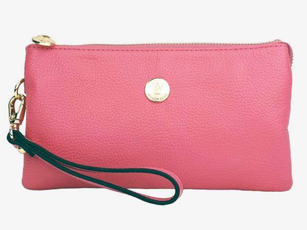 Tilly Leather Wristlet Clutch