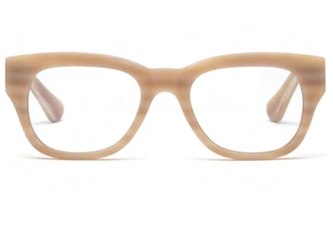 Miklos Reading Glasses - Matte Bone