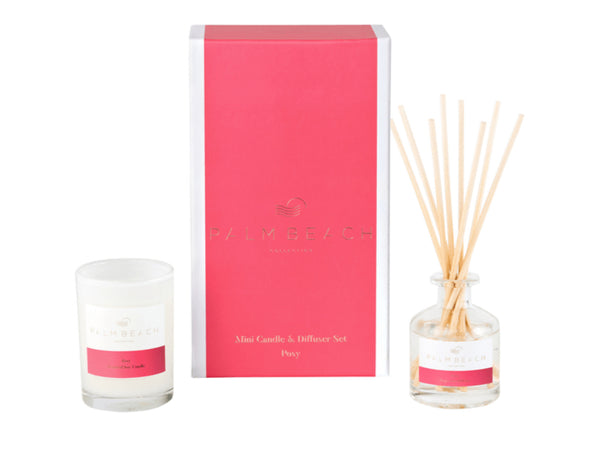 Gift pack mini candle & diffuser
