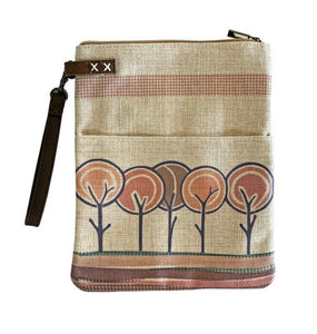 Large Linen Laptop Pouch