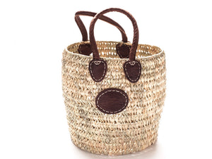 Open Weave Round Basket - Medium