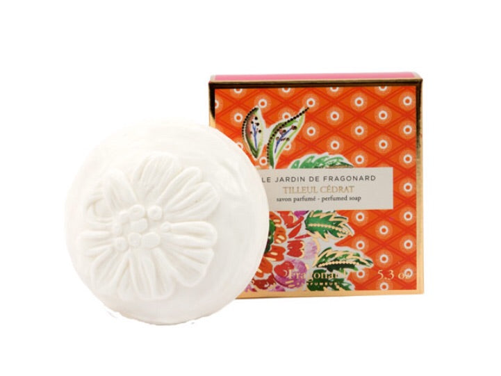 Fragonard Perfumed Soap Tilleul Cedrat 150gm