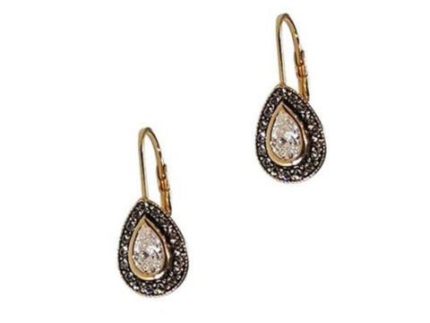 Etruscan Teardrop Earrings