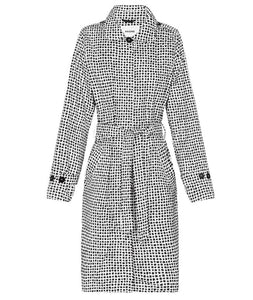 Dalmatian Trench Raincoat
