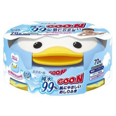 GOO.N Baby Wipes Dispenser - 70 Wipes