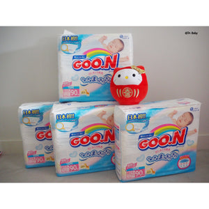 GOO.N Nappy Open type New Born(~5kg) 4 packs