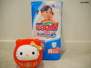 GOO.N Pull up type Size L(9~14kg) For girls 44 pcs