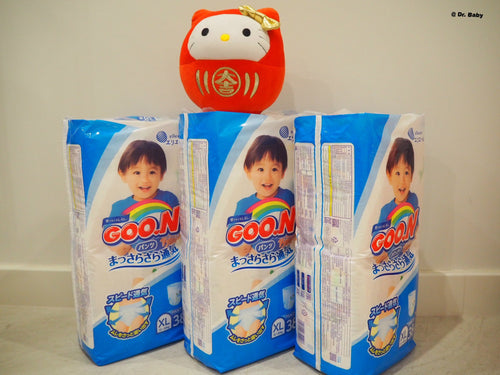 GOO.N Pull up type Size XL(12~20kg) For boys 3 packs