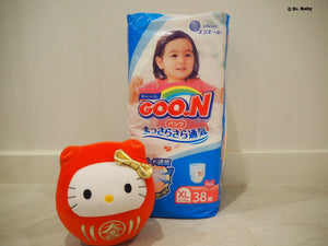 GOO.N Pull up type Size XL(12~20kg) For girls 38pcs