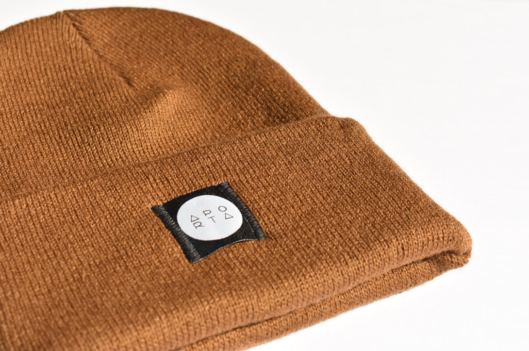 Slope Beanie in Copper