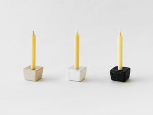 Japanese Black Rippho Candle Stand