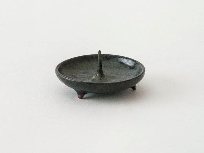 Japanese candle holder in black