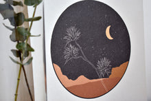 Desert Flower at Night print
