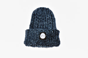 Fisherman Beanie in Indigo