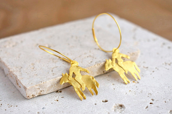 Jinete B Earrings