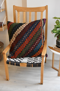 All the colors kilim pillow
