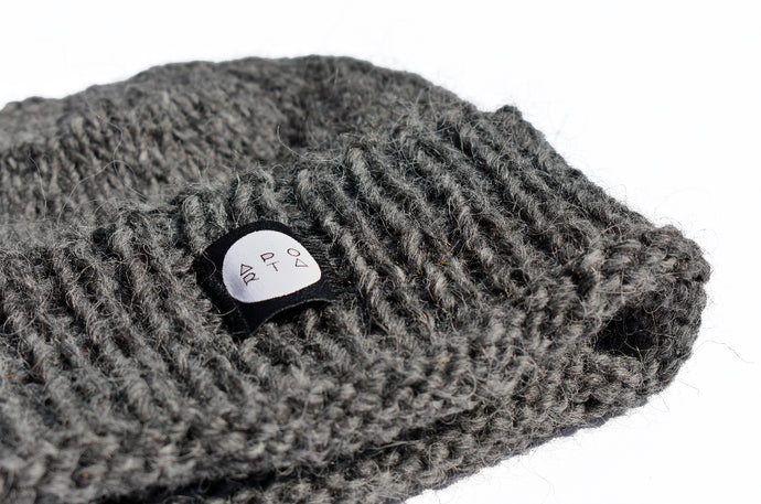 The Icelandic Oli Beanie in Grey
