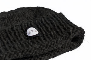 The Icelandic Oli Beanie in Black