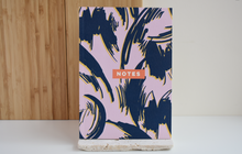 Lilac Scribble Flower Notebook