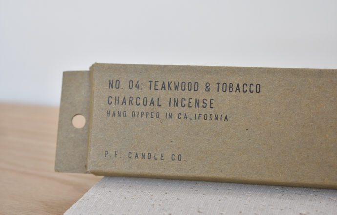 Teakwood & Tobacco Incense