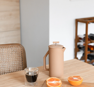 Ceramic French Press - Sand