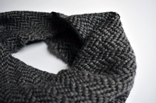Worker Banadana Scarf in Dark Grey