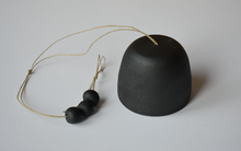 Katherine Moes Clay Bell in Black