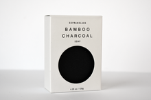 Bamboo Charcoal Vegan Soap