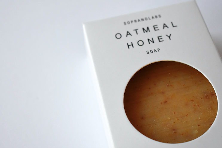 Oatmeal Honey Vegan Soap