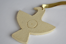 Ceramic Feathered Friend Ornament
