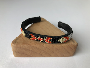 Navajo hand beaded cuff