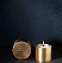 Ancient Hinoki Candle in Brass Lidded Cup