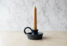 Black Minimalist Candle Holder